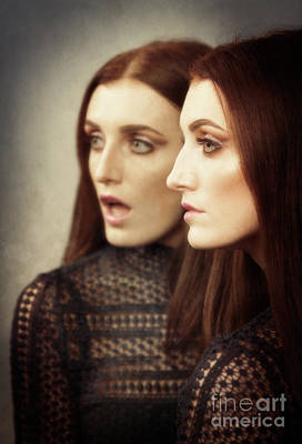 Two Faces Photograph - Two Faced by Amanda Elwell