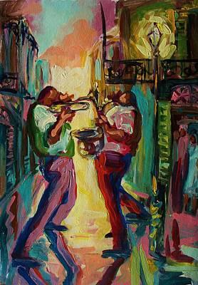 Two For Jazz Original by Saundra Bolen Samuel