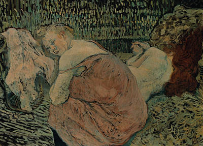 Painting - Two Friends  by Henri de Toulouse-Lautrec