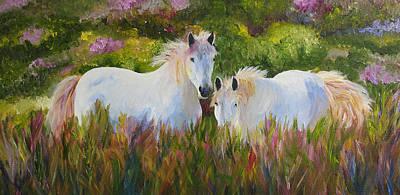 Two Friends Art Print by Mary Jo Zorad