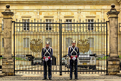 Photograph - Two Guards by Maria Coulson