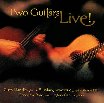 Photograph - Two Guitars Live Cd  by Phil Cardamone