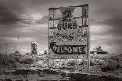 Photograph - Two Guns by Jim Moss
