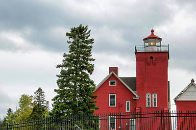 Photograph - Two Harbors Lighthouse by Steve Stuller