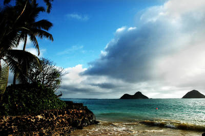 Photograph - Two Islands by Russell Pierce