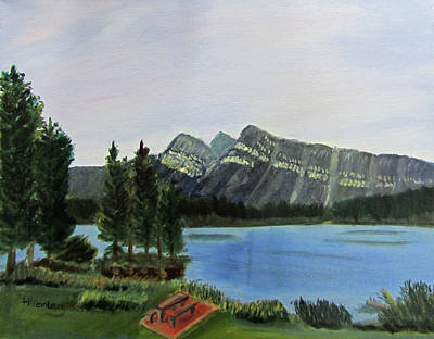Painting - Two Jack Lake by Linda Feinberg
