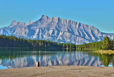 Photograph - Two Jack Lake by Linda Sannuti