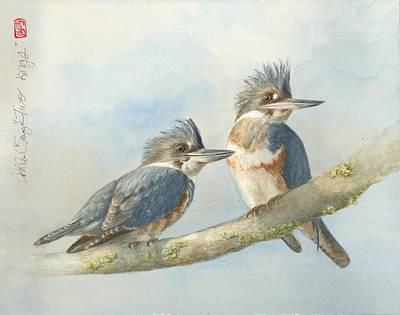 Two Kings Original by Cathleen Savage