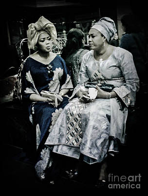 Photograph - Two Ladies Of Africa by Miriam Danar