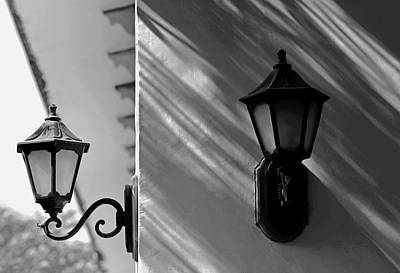 Photograph - Two Lamps by Prakash Ghai