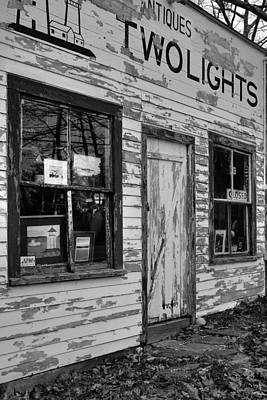 Two Lights Storefront Art Print