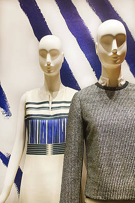 Photograph - Two Mannequins by Carlos Diaz