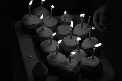 Photograph - Two Many Candles by Renee Holder