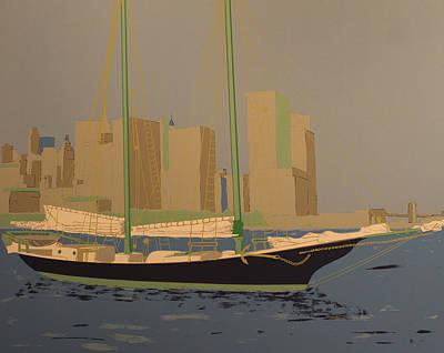 Two Masts Art Print by Biagio Civale