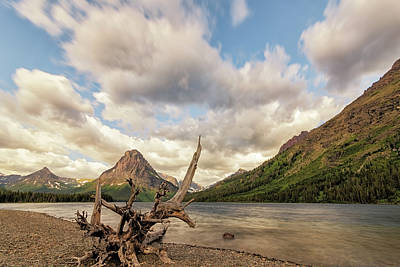 Photograph - Two Medicine Lake by Loree Johnson