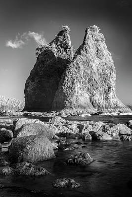 Photograph - Two Monoliths by Jon Glaser