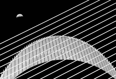 Moon Wall Art - Photograph - Two Moons by Juan Luis Duran