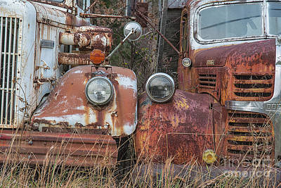 Photograph - Two Old Workers by Terry Rowe