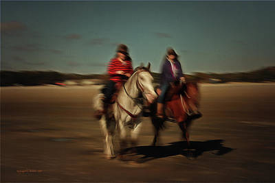 Photograph - Two On The Road by Aleksander Rotner