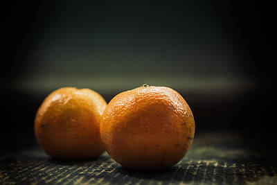 Two Oranges Art Print by Yo Pedro