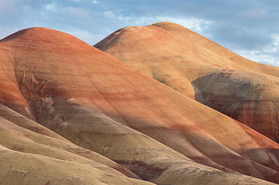 Art Print featuring the photograph Two Painted Hills by Greg Nyquist