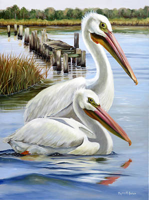 Painting - Two Part Harmony by Phyllis Beiser