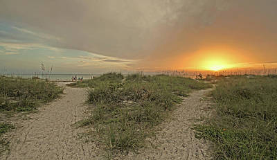 Photograph - Two Paths  by HH Photography of Florida