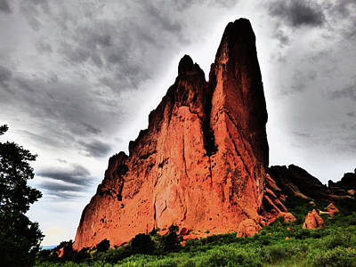 Photograph - Two Peaks Garden Of The Gods by Alan Socolik