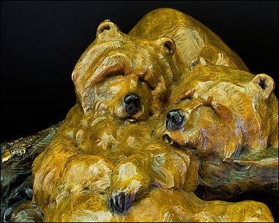 Photograph - Two Pooped Sculpture By Walt Horton by Ginger Wakem