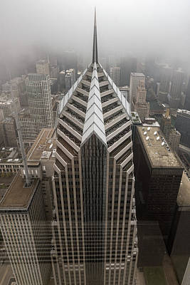 Photograph - Two Prudential Plaza by Randy Scherkenbach