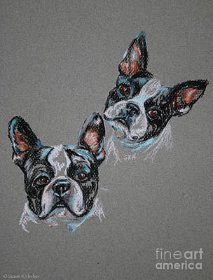 Pastel - Two R Better Than One by Susan Herber