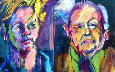 Painting - Two Rooneys by Les Leffingwell