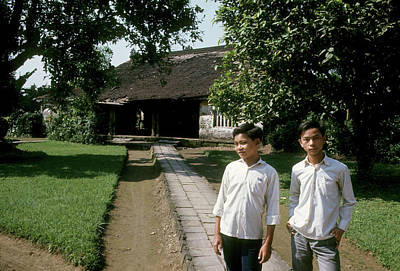 Photograph - Two Hue Schoolboys by Robert Holden
