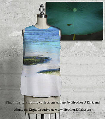 Photograph - Two Seaweed Mounds Sleeveless Top And In The Palm Of His Hand by Heather Kirk