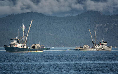 Photograph - Two Seiners by Randy Hall
