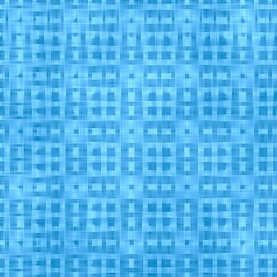 Digital Art - Two Shades Of Blue Pattern by Gina Lee Manley