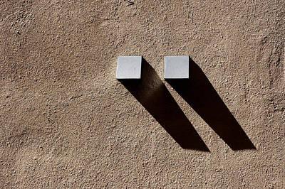 Photograph - Two Shadows by Stuart Allen