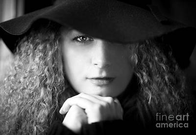 Portraits Royalty-Free and Rights-Managed Images - Two Sides To Each Story... by Evelina Kremsdorf