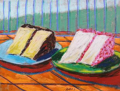 Two Slices Art Print by John Williams