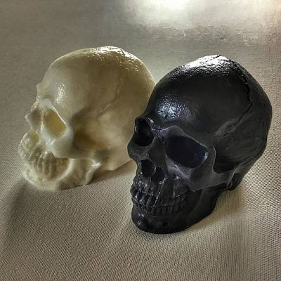 Photograph - Two Soap Skulls Are Better Than One by Patricia E Sundik