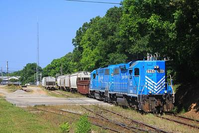 Photograph - Two Southern Railway Gp38acs by Joseph C Hinson Photography