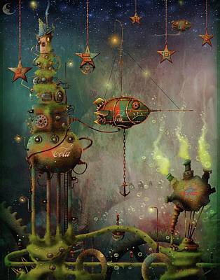 Painting - Two Star Cola  by Joe Gilronan