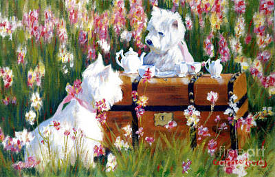 Painting - Two Sugars Please by Candace Lovely