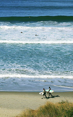 Photograph - Two Surfers by Nareeta Martin