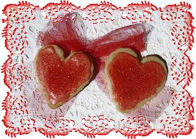Photograph - Two Sweet Valentine by Barbie Corbett-Newmin