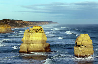 Photograph - Two Of The Twelve Apostles  by John Gaffen