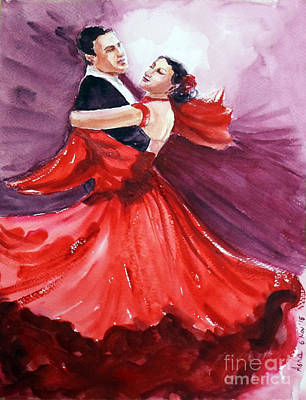 Painting - Two To Tango by Asha Sudhaker Shenoy