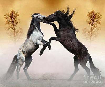 Photograph - Two To Tango by Davandra Cribbie