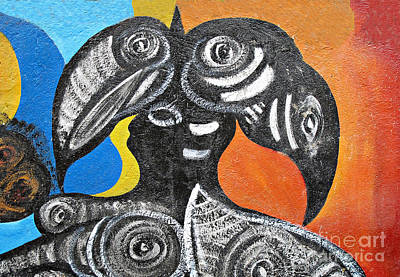 Photograph - Two Toucans by Ethna Gillespie