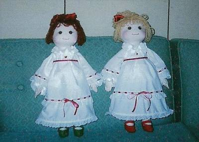 Photograph - Two Victorian Dolls by Denise Fulmer